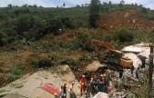 贵州大方发生山体滑坡29人被埋 救援正进行