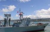 2016环太平洋军演 我舰艇编队抵达夏威夷参演