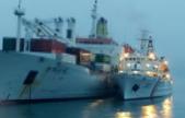 韩国驶往中国渡轮半夜起火:200人被转移