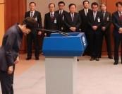 韩总统朴槿惠承认向亲信泄密 向国民深鞠躬道歉