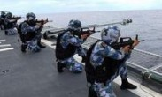 南海舰队远海训练编队 对海实弹射击训练 检验装备性能