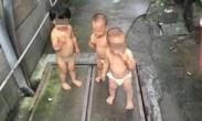 2岁小女孩带1岁弟妹