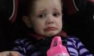 美国4岁女孩惊闻奥巴马即将卸任 泪如雨下