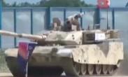 珠海航展:地面装备表演 陆战之王VT-4亮相