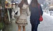 一女爱美寒冬光腿穿裙子赴约 次日冻成面瘫