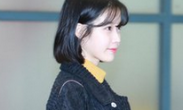 IU结束演唱会返韩 机场遭粉丝围堵不掩好心情