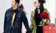 冉莹颖获老公邹市明送玫瑰 机场献吻甜蜜爆表