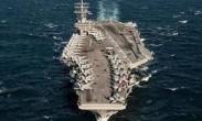 驻日美军舰载机开展模拟起降训练