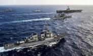 美日航母聚南海临时军演 日本防卫战略由守转攻