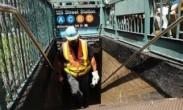 纽约曼哈顿地铁脱轨致34人受轻伤