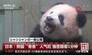 """日本:熊猫""""香香""""人气旺 抽签限看1分钟"""