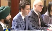 汪洋会见加拿大总理和巴布亚新几内亚总理
