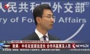 """中国外交部:借题发挥挑拨中非关系注定是""""徒劳的"""""""