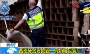 西班牙警方捣毁一假奶粉包装厂