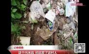 20180802记者调查:这个污水坑 可坑苦了这村人