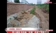 """20180820记者调查:杂草丛生 黄土裸露 百余亩""""花海""""咋成了荒地?"""