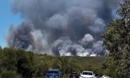 澳大利亚:山火来袭_新南威尔士州发布警报