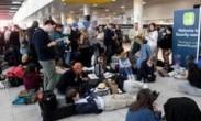 英国机场遭无人机干扰被迫关闭 上万人滞留