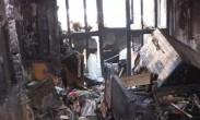 上海一高校教授家中失火_房间被毁