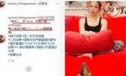 郑秀文已搬回和许志安的爱巢?同款红沙发引猜测