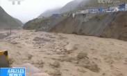 强降雨袭扰我国多地 国道215金山段多处边坡垮塌