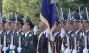 习近平出席塔吉克斯坦共和国总统举行的欢迎仪式