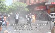 暴力排外!南非警方驱逐静坐抗议的难民们