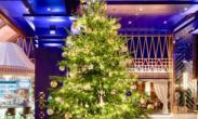 全球最贵圣诞树价值1190万英镑  钻石蓝宝石装饰
