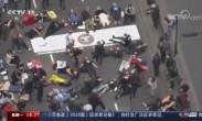 躺卧街头 伦敦举行反种族歧视抗议活动