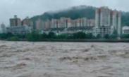 四川一男子江边拍洪水被卷走