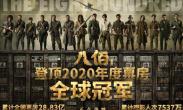 华语电影首度!《八佰》登顶2020年度票房全球冠军