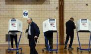 紧绷的选举日 美国大选如临大敌