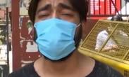 印度小伙哭诉氧气供应不够 求亲自护理患新冠的母亲