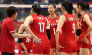 中国女排世界排名跌至第二