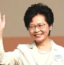 林郑月娥成香港首位女特首 得票超过600张有效选票