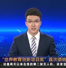 """""""世界教育创新项目奖""""首次颁给中国项目"""