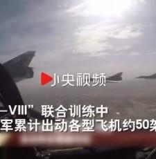 """枭龙""""回娘家""""大战歼-10解放军与""""巴铁""""联合训练"""