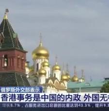 俄罗斯外交部副部长表示_颁布实施香港国安法是中国内部事务