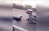 男童遭亲母绳索捆绑栓电动车后拖行