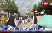 阿富汗 阿政府释放317名塔利班在押人员