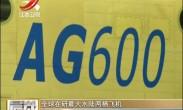 全球在研最大水陆两栖飞机AG600总装下线 或在年底首飞