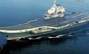 霸气侧漏!中国航母辽宁舰海上90度转向姿势太帅气