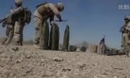 美国海军陆战队-M777榴弹炮实弹射击训练