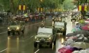 在马德里举行了西班牙国庆阅兵