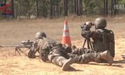 美国军方资助的国际狙击手大赛在佐治亚州-本宁堡军事基地进行