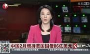 中国2月增持美国国债86亿美元