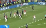 俄罗斯世界杯决赛:法国时隔20年再捧金杯