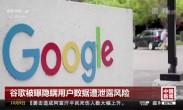 谷歌被曝隐瞒用户数据遭泄露风险