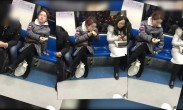 上海凤爪女转战北京地铁, 网友:这是要全国巡演吗?