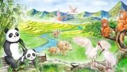 保护秦岭野生动物
